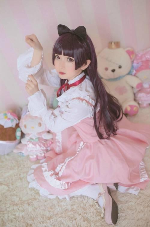 可爱萝莉白丝洛丽塔美女图片_WWW.66152.COM