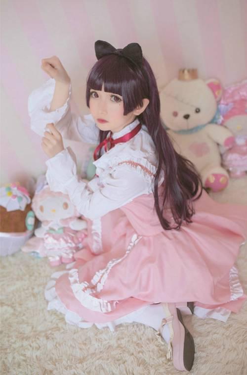洛丽塔萝莉少女白丝长袜性感图片_WWW.66152.COM