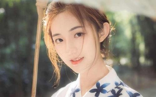 金发少女日式和服清纯动人套图_WWW.66152.COM