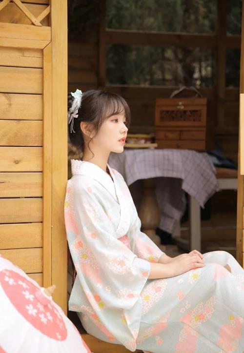 和服美女温柔善良娇软美女图片_WWW.66152.COM