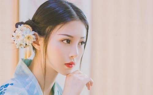 日本复古和服美女气质纤尘不染唯美照片_WWW.66152.COM