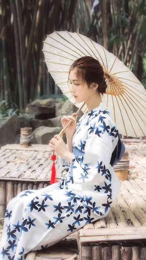日本和服美女温柔气质成熟养眼户外唯美清纯图片_WWW.66152.COM