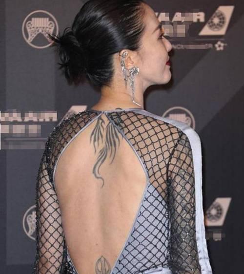 谭维维纹身图案曝光_WWW.66152.COM