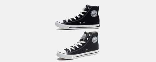 布鞋鞋带的潮流系法_WWW.66152.COM