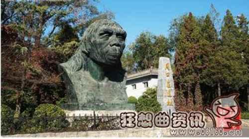 中国古人类生活分布情况地图_WWW.66152.COM