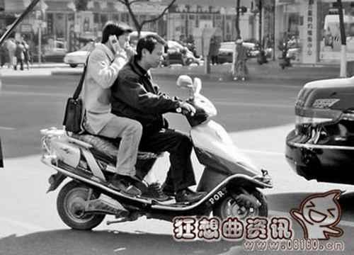 轻便摩托车不得载人的相关规定_WWW.66152.COM