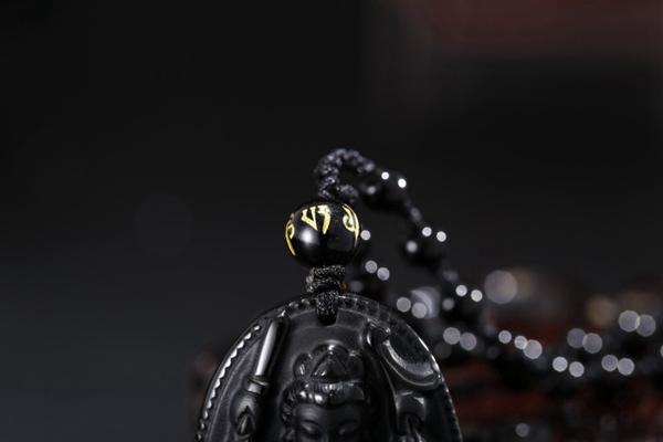 黑玉佛像吊坠图片_WWW.66152.COM