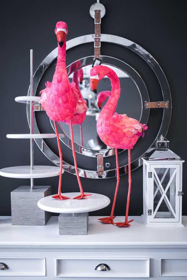 粉红火烈鸟图案的图片_WWW.66152.COM