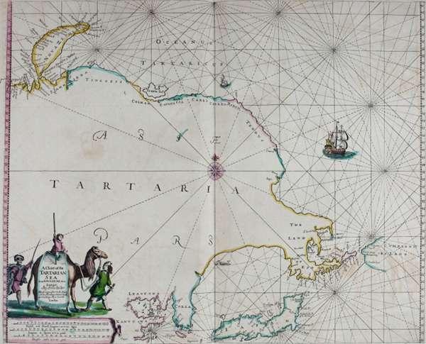 古时代的地图图片_WWW.66152.COM
