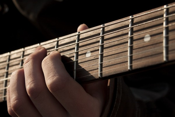 帅气的吉它细节图片_WWW.66152.COM