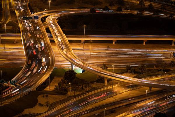 城市立交桥图片_WWW.66152.COM