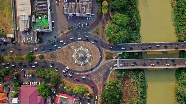 建筑物的鸟瞰图片_WWW.66152.COM