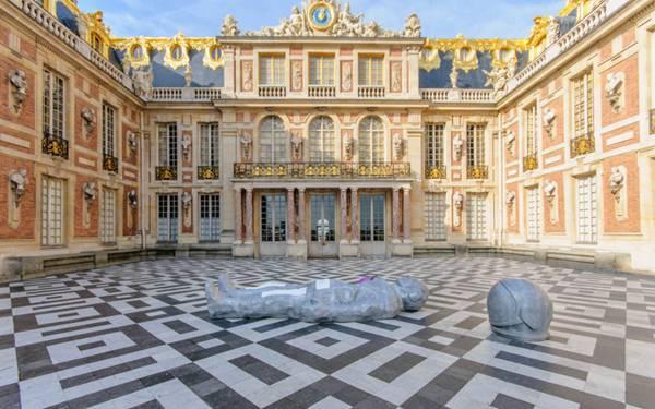 法国凡尔赛宫建筑图片_WWW.66152.COM