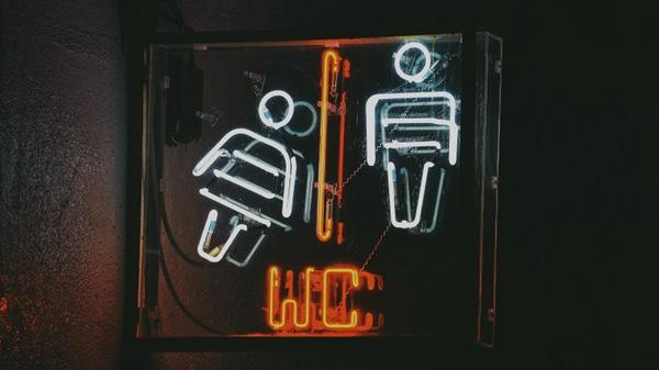 发光的霓虹灯招牌图片_WWW.66152.COM