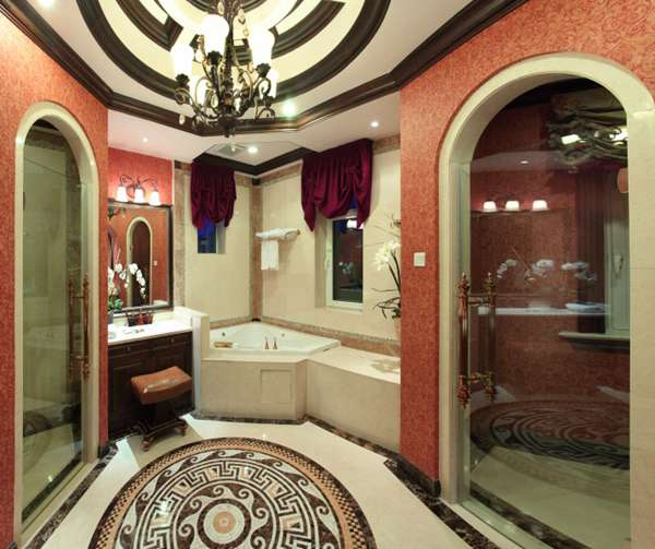豪华卫生间设计图片_WWW.66152.COM