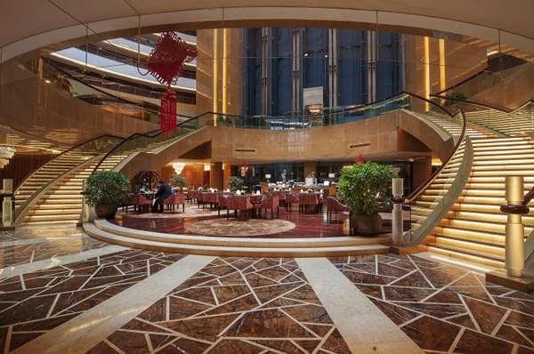 豪华酒店大堂设计图片_WWW.66152.COM