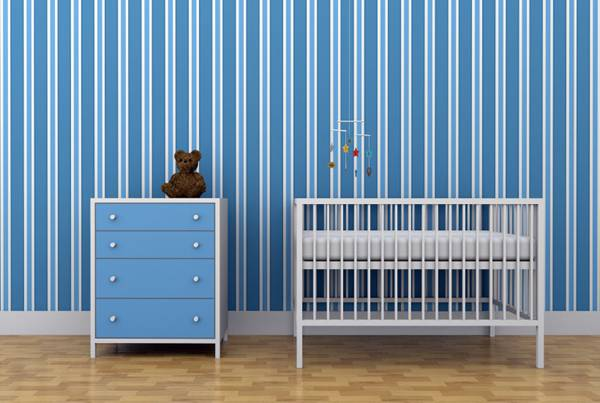 可爱温馨婴儿床图片_WWW.66152.COM