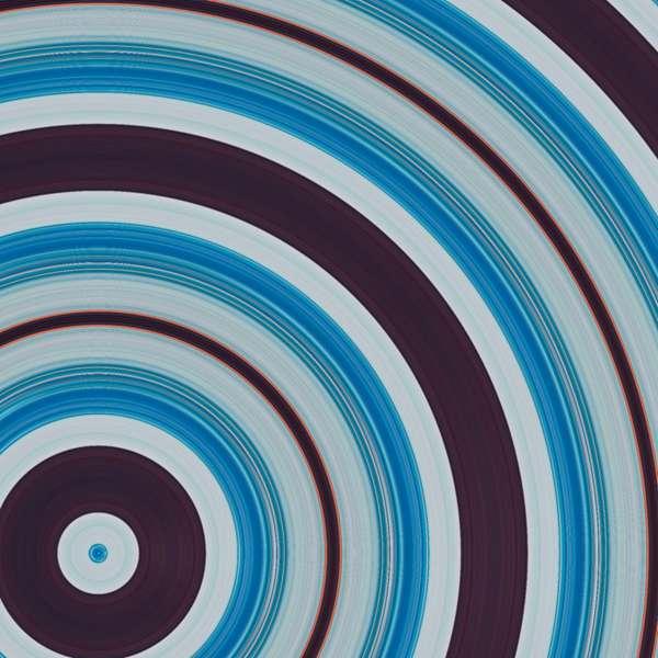 蓝色的重叠圆形背景素材图片_WWW.66152.COM