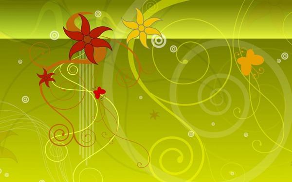 矢量植物花纹图片_WWW.66152.COM