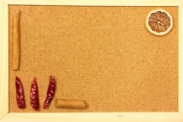 用香料装饰的空白纸图片_WWW.66152.COM