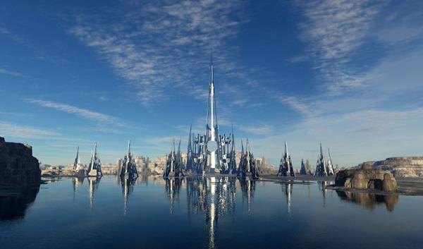 创意城市空间素材图片_WWW.66152.COM