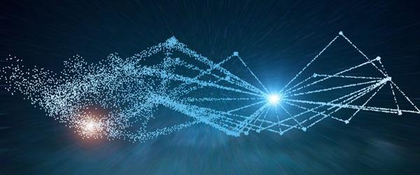 唯美的科技线条背景图片_WWW.66152.COM