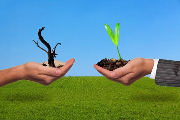 保护环境关爱地球设计素材图片_WWW.66152.COM