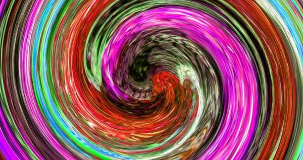 多彩螺旋背景图片_WWW.66152.COM
