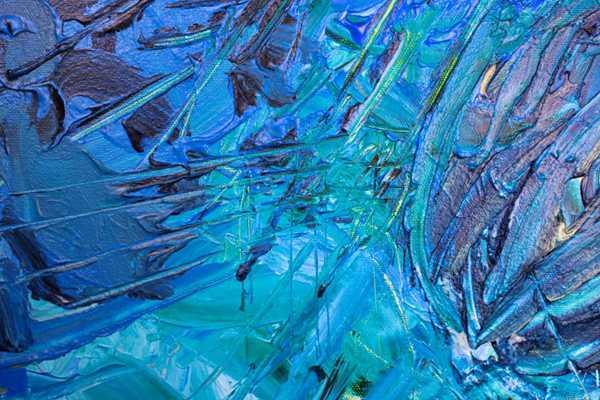 抽象艺术画图片_WWW.66152.COM