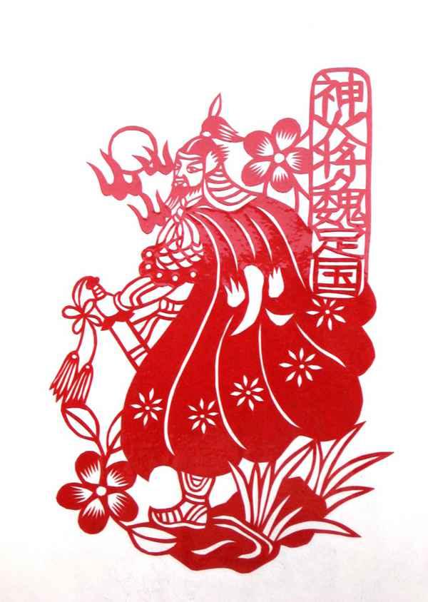 剪纸艺术图片_WWW.66152.COM