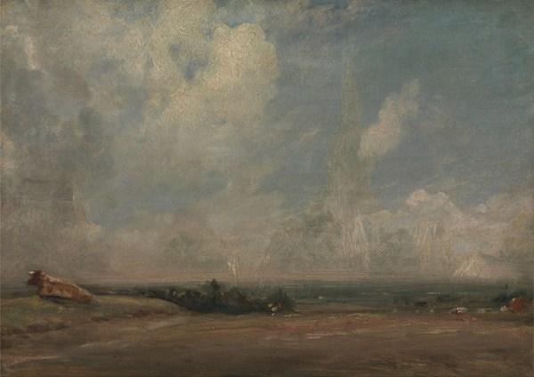 约翰·康斯太勃尔绘画之自然风光系列图片_WWW.66152.COM