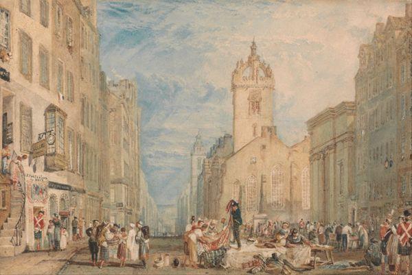 约瑟夫·马洛德·威廉·透纳绘画之建筑人物系列图片_WWW.66152.COM