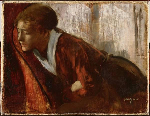 埃德加·德加绘画之人物场景系列图片_WWW.66152.COM