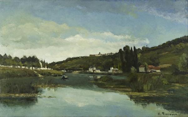 卡米耶·毕沙罗绘画之风景系列图片_WWW.66152.COM