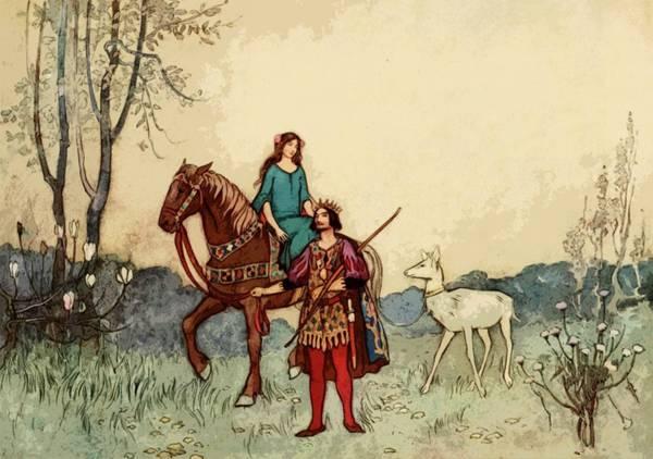 复古童话插画桌面壁纸_WWW.66152.COM