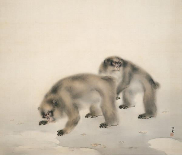 桥本关雪绘画系列一图片_WWW.66152.COM