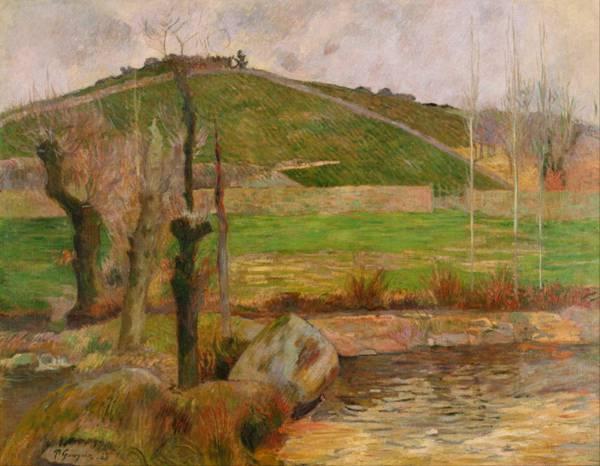 保罗·高更风景绘画系列图片_WWW.66152.COM