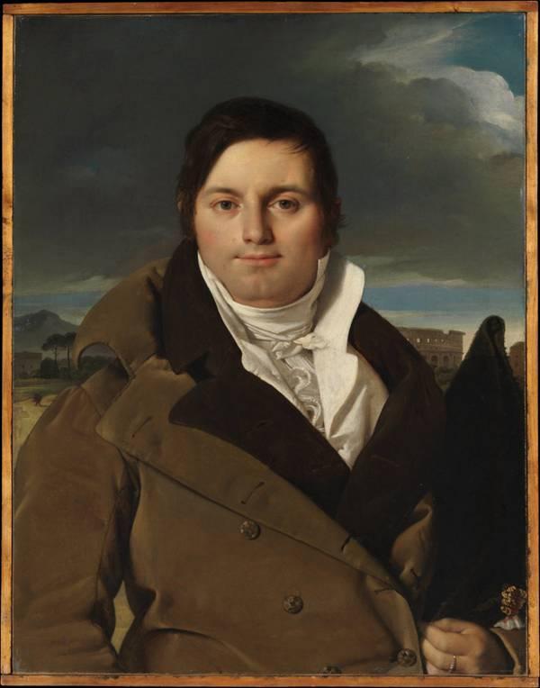 让·奥古斯特·多米尼克·安格尔绘画系列图片_WWW.66152.COM