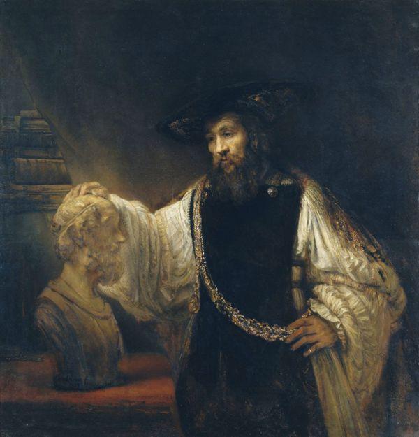 色彩鲜明的油画之人物系列图片_WWW.66152.COM