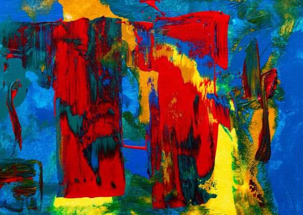 多彩多姿的抽象绘画图片_WWW.66152.COM