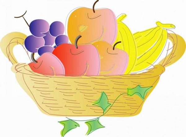 卡通水果矢量图片_WWW.66152.COM