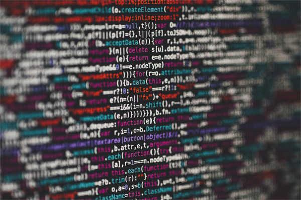 电脑屏幕上的代码图片_WWW.66152.COM