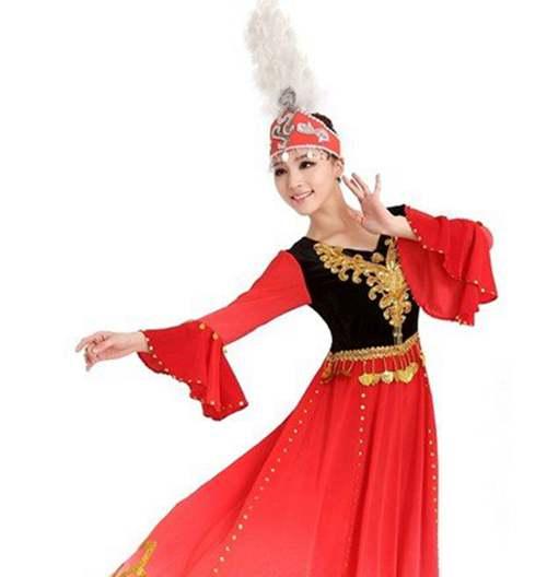 新疆舞蹈发型图片,及具民族风情舞蹈发型_WWW.66152.COM