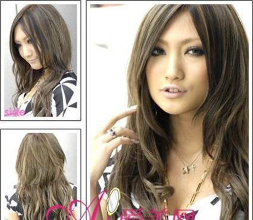 亚麻青头发颜色图片_WWW.66152.COM