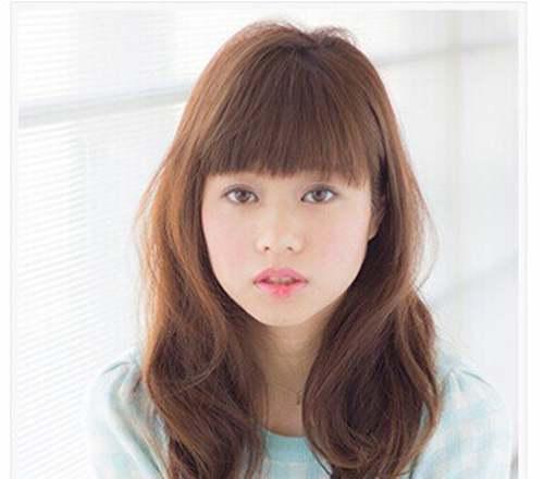 适合脸宽女生发型造型_WWW.66152.COM