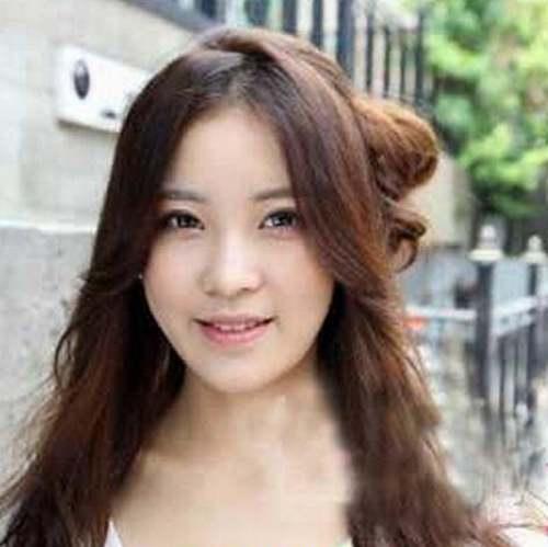 凸额头的女生适合发型_WWW.66152.COM