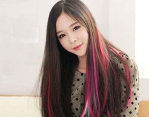 女生哪种紫红色头发好看_WWW.66152.COM