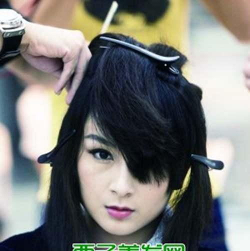 赫本头发型图片_WWW.66152.COM