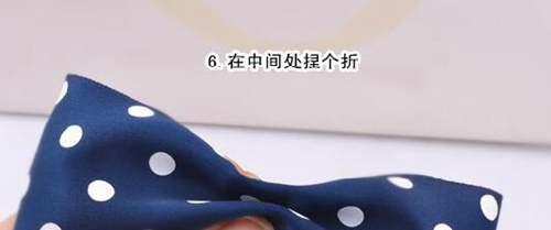 蝴蝶结发夹diy教程图解_WWW.66152.COM
