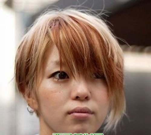 浅亚麻色头发图片,个性亚麻色头发_WWW.66152.COM